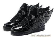 separation shoes 5392f 7651c Adidas X Jeremy Scott Wings 2.0 Chaussures Tous Noir en ligne Adidas Women,  Nike Basketball