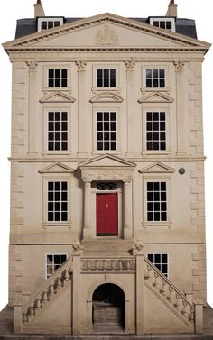 The dollhouse, of all dollhouses { Handmade Classic English Unfurnished Dollhouse by Mulvany & Rogers Now Available on Moda Operandi }