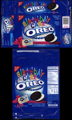 Nabisco Packages Nabisco Oreo Summer Cookie