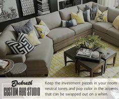 Pop your accents #Bockraths #DesignTip