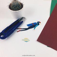 Apunto de adentrarnos en las profundidades marinas. Pronto una idea 💡 transformada en un gran regalo #igersspain #igers #blogger #instagood #design #instalike #ilustracion