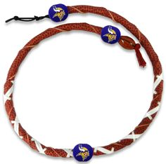Minnesota Vikings Classic NFL Spiral Football Necklace