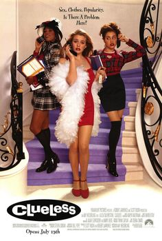 Clueless movie poster Alicia Silverstone