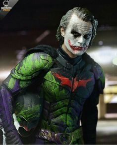Awesome, Joker in the batsuit.