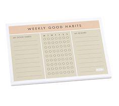 Kiki K - WEEKLY HABITS PAD: INSPIRATION 2014
