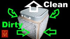 DIY - The Best Air Cleaner - Purifier - YouTube