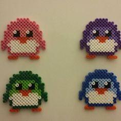 Penguins perler beads by lekaakel
