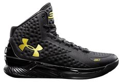 5f84b269c6f5 Under Armour Stephen Curry One 1 Gold Banner Size 11 dub nation steph  warriors - Curry