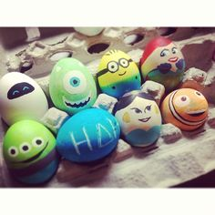 Animated Flm Character Easter Eggs | I like the LGM and Nemo!