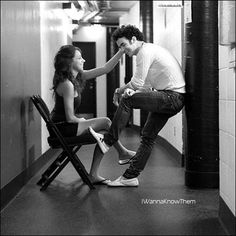ok seriously how can Dani and Kevin get any cuter ;D I want a relationship like theirs someday. Love Is A Temple, Danielle Jonas, The Tables Have Turned, I Want A Relationship, Blown Away, Cute Poses, Rhythm And Blues, Jonas Brothers, Perfect Couple