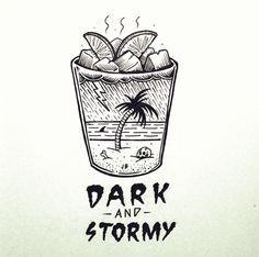 Jamie Browne Art - Dark and stormy