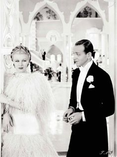 Fred Astaire and Ginger Rogers... Their screen time love makes my heart skip a beat, always. My favorite movies as a child.