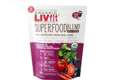 BetterBody Foods Organic LIVfit Superfood Blend with Protein 12.7oz