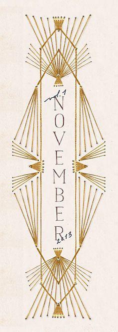November, Anthropologie