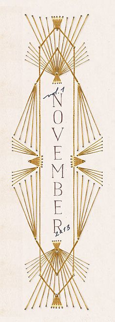 November, Anthropologie