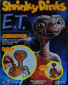 E.T. Shrinky Dinks toy box