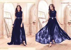 Eid Indian Bollywood Wedding Designer Anarkali Dress Salwar Kameez Suit K MNT 01
