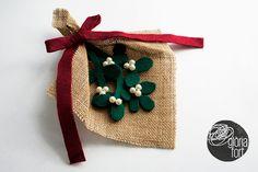 Felt & Burlap Mistletoe