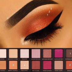 The Trick To Applying False Eyelashes - MakeUp Tips Makeup Goals, Makeup Inspo, Makeup Inspiration, Makeup Tips, Beauty Makeup, Makeup Ideas, Eye Makeup Steps, Makeup Eye Looks, Beautiful Eye Makeup
