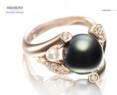 Mikimoto Black Pearl ring