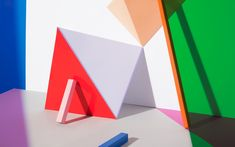 <p>Lonneke van der Palen's vivid photographs bear witness to her almost mathematical sense of color and design. They often reflect still-life or a portrait showing a single figure. The images tease yo
