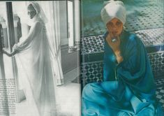 VOGUE UK July 1973, Morocco Bound... all these #modernnomad beauties need are a few #litany layers to spice up their look!