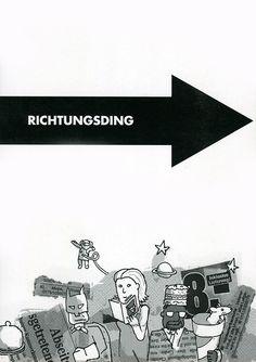 Richtungsding- #Cover der 8. Ausgabe, mit einer #Illustration von Benjamin Bäder.