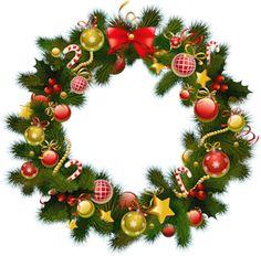 Xmas Stuff For Christmas Wreath Clipart Christmas Wreath Clipart, Christmas Card Crafts, Christmas Tree Wreath, Christmas Drawing, Christmas Fairy, Outdoor Christmas, Christmas Time, Merry Christmas Images, Christmas Frames