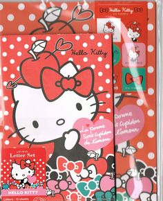 Sanrio stationery Hello Kitty letter set 2