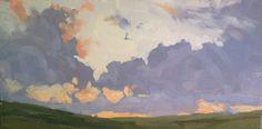AARON CORDELL JOHNSON  Sunset Palouse
