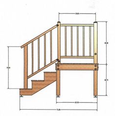 Best Steps Rails And A Small Landing Upgrade The Entry To A 400 x 300
