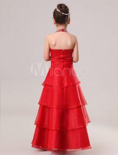 resultado de imagen para vestidos de colores para nias de aos para fiesta
