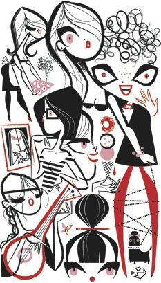 """Mindy Kaling: """"Flick Chicks"""" : The New Yorker"""