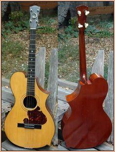 Windsor Whirlie Tenor Guitar