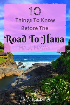 Excited for Maui and the Road to Hana? Here are some things I wish I knew before starting the trek!