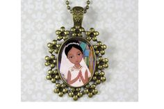 Jewelry Handmade Art Pendent Necklace First by Evonagallery, $25.00