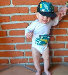 Baby trucker from Blowfish Design Co