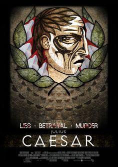 Julius Caesar. William Shakespeare promotion by Eamon Martin