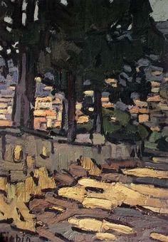 Vue de Villefranche1912- Frédéric FIEBIG