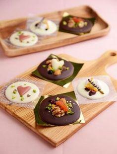 JUNAっちの食卓へようこそ!「バレンタインに☆チョコレートディスク 」 | お菓子・パンのレシピや作り方【corecle*コレクル】