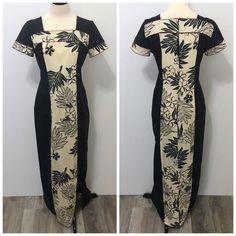 Island Outfit, Island Wear, Samoan Designs, Samoan Dress, Island Style Clothing, Hawaiian Muumuu, Patch Work Blouse Designs, Hawaiian Fashion, Half Sleeve Dresses