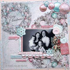 Family Christmas {Merly Impressions & Kaisercraft} - Scrapbook.com