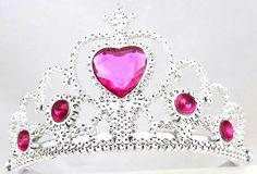 Princess Party Accessories | Heart Tiara | Princess Party Supplies