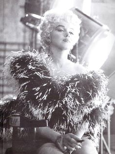 Marilyn photographed by Sam Shaw during the production of The Seven Year Itch in 1954.