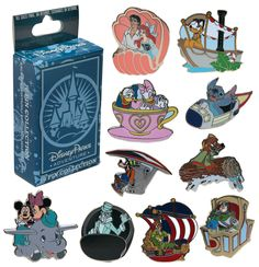 Exclusive Pins Come to Disney Parks Online Store