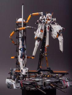 Custom Build: 1/144 A.O.Z RX-124 GUNDAM TR6 [Wondwart] + Diorama - Gundam Kits Collection News and Reviews