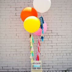 Big Balloons are the New Flowers!