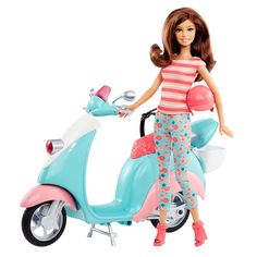 Barbie Glam Scooter with Teresa Doll