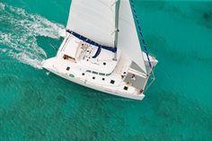Cancun catamaran sailing. Looks way better than the one Aquaworld offers.