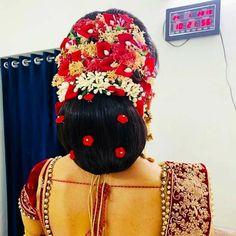 Bridal Hair Buns, Indian Flowers, Big Bun, Bun Hairstyles, Fashion Backpack, Captain Hat, Exotic, Hats, Sexy